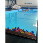 Concideration & adjusment baby pool in an existing swimming pool.